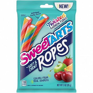 SweeTARTS Soft & Chewy Ropes (12 x 85g)