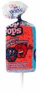 Top Pops Blazpberry Taffy Pops (Box of 48)