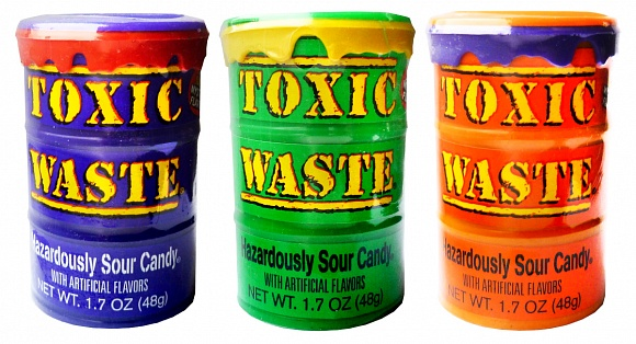 Toxic Waste Special Edition Color Drums (Box of 12)