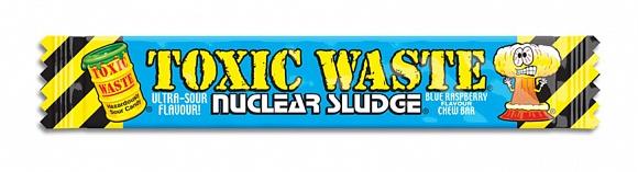 Toxic Waste Nuclear Sludge Chew Bar Blue Raspberry (50 x 20g)