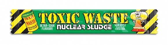Toxic Waste Nuclear Sludge Chew Bar Sour Apple (50 x 20g)