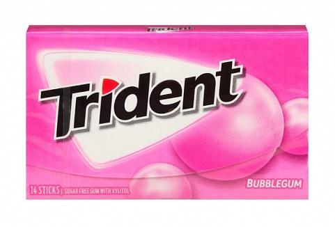 Trident Bubble Gum (Box of 12)