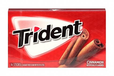 Trident Cinnamon Gum (Box of 12)
