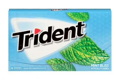 Trident Mint Bliss Gum (Box of 12)