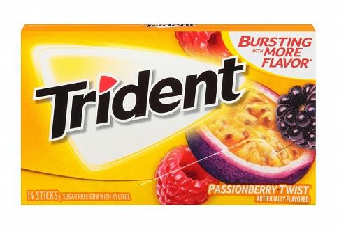 Trident Passionberry Twist Gum