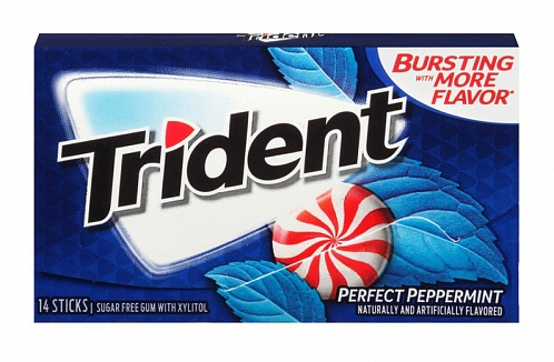 Trident Perfect Peppermint Gum (Box of 12)