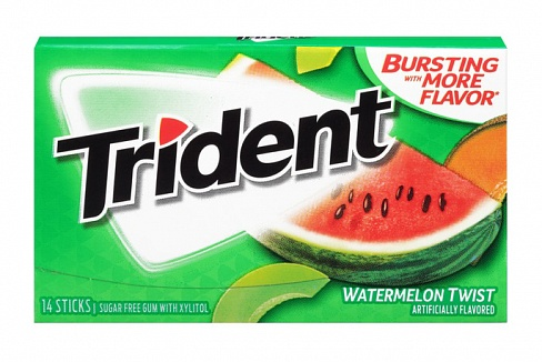 Trident Watermelon Twist Gum (Box of 12)