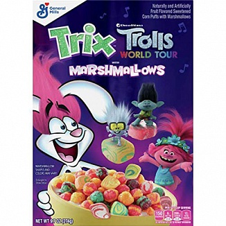 Trix Cereal Trolls with Marshmallows (12 x 274g)