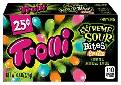 Trolli Extreme Sour Bites Fruitz (23g)