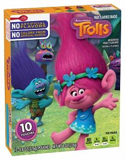 Trolls Fruit Snack 10 Pack (8 x 226g)