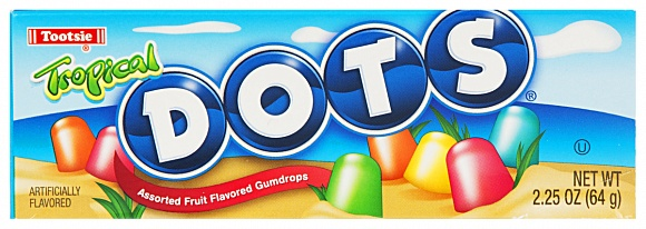 Tropical Dots (Box of 24)