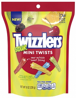 Twizzlers Sour Mini Twists (9 x 227g)