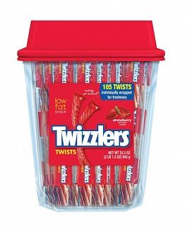 Twizzlers Strawberry 105 Twists (945g)