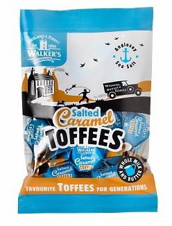Walker's Salted Caramel Toffees (150g)