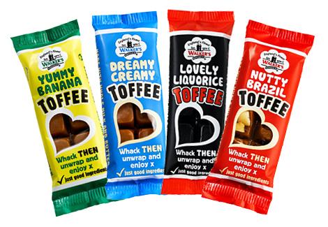 Walker's Toffee Bar 4-Pack
