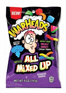 Warheads All MIxed Up (12 x 141g)