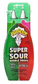 Warheads Green Apple & Watermelon Double Drops