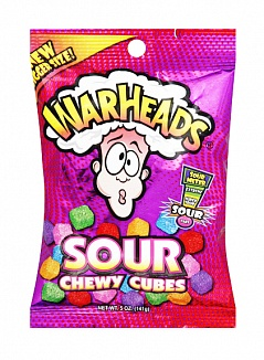 Warheads Chewy Cubes (12 x 142g)