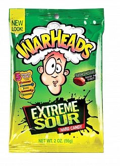 Warheads Extreme Sour Hard Candy (12 x 56g)