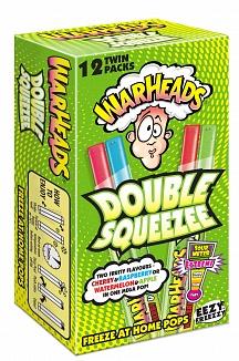 Warheads Freezer Pop Double Squeezee 12 Pack (16 x 240ml)