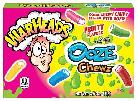 Warheads Ooze Chews (12 x 99g)