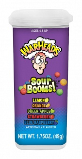 Warheads Sour Booms (18 x 50g)