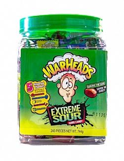 Warheads Tub (240pcs)