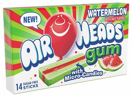 Watermelon Airheads Gum (12 x 34g)