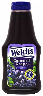 Welch's Concord Grape Jam Squeezable