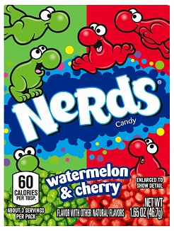 What-a-Melon & So Verry Cherry Nerds (Box of 36)