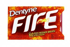 Dentyne Fire Spicy Cinnamon Gum (16pc)