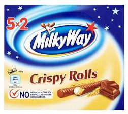 Milkyway Crispy Rolls 5pk (Case of 13)