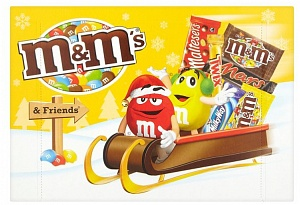 M & Ms & Friends Selection Box Medium Ps 184g (Case of 8)