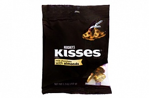 Hershey's Kisses with Almonds (150g)