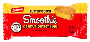 Butterscotch Smoothie Peanut Butter Cups (Box of 24)