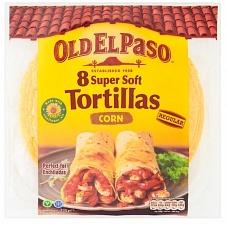 O.e.paso Corn Tortillas 335g (Case of 12)