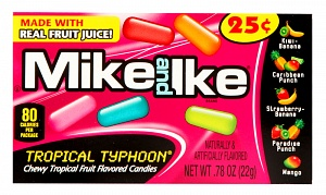 Mike and Ike Tropical Typhoon Minis (Box of 24)
