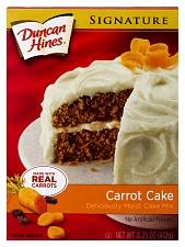 Duncan Hines Signature Carrot Cake (12 x 432g)