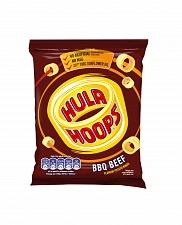 Hula Hoops BBQ Beef Potato Rings (32 x 34g)