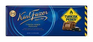 Karl Fazer Milk Chocolate with Tyrkisk Peber (200g)