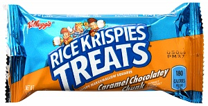 Rice Krispies Treats Caramel Chocolatey Chunk Bar