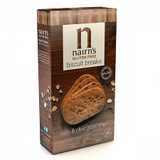 Nairns Gluten Free Chocolate Biscuit Breaks 160g (Case of 12)